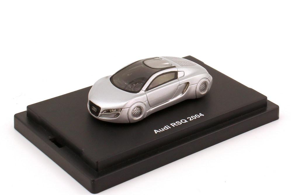 Foto 1:87 Audi RSQ silber-met. (Concept-Car, Film I Robot 2004) JB-Modellautos JB31