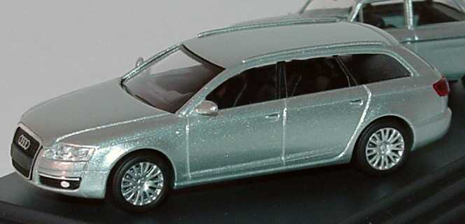 Foto 1:87 Audi Setpackung 100 Jahre Automobilbau NSU (NSU TT + Audi A6 (C6) silbermet.) Werbemodell Busch 5030600100