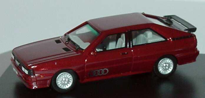 Foto 1:87 Audi Setpackung 25 Jahre quattro (Audi quattro weinrot-met. (1980) + Audi quattro perlmutt-met. (2005)) herpa 273916