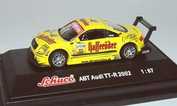 Foto 1:87 Audi TT-R DTM 2002 Hasseröder Nr.23, Tomczyk Schuco 21634