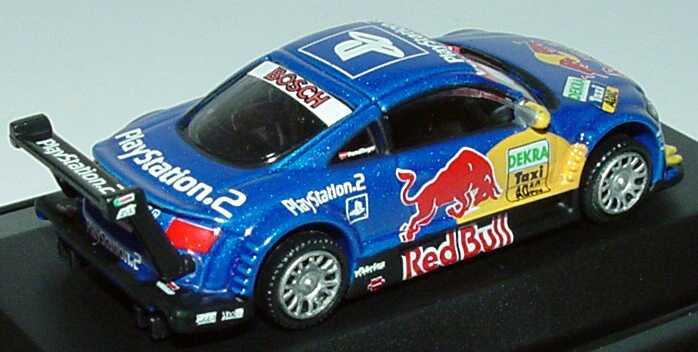 Foto 1:87 Audi TT-R DTM 2004 Präsentation Taxi Red Bull, PlayStation 2 Schuco 21857
