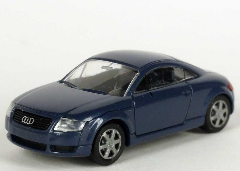 Foto 1:87 Audi TT Coupé (8N) denimblau-met. Werbemodell Rietze 5019800432