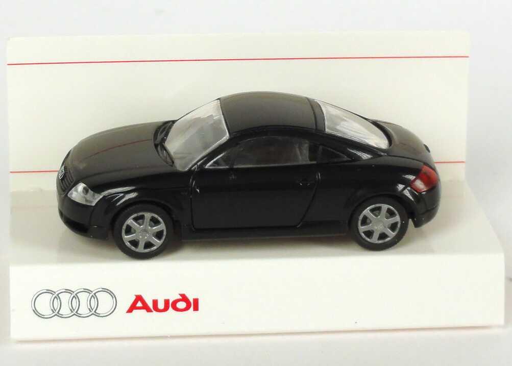 Foto 1:87 Audi TT Coupé (8N) ebonyschwarz Werbemodell Rietze 5019800412