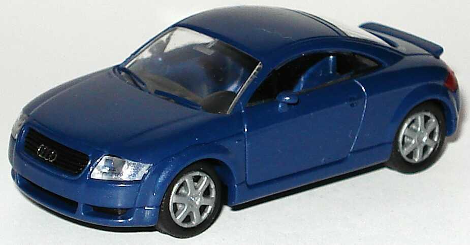 Foto 1:87 Audi TT Coupé (8N) mit Heckspoiler denimblau-met. Rietze 501.98.004.32