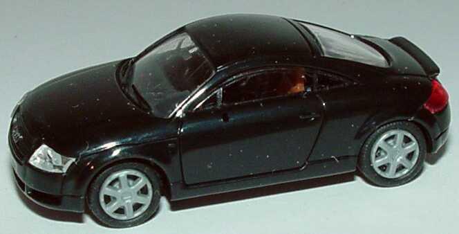 Foto 1:87 Audi TT Coupé (8N) mit Heckspoiler schwarz Rietze 10944