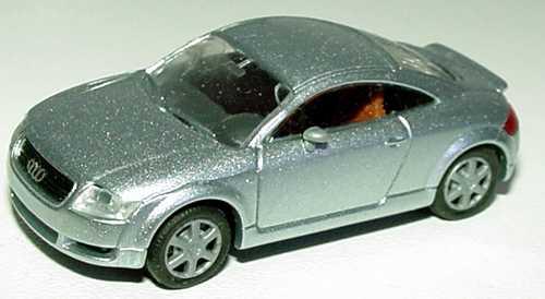 Foto 1:87 Audi TT Coupé (8N) mit Heckspoiler silber-met. Rietze 20940
