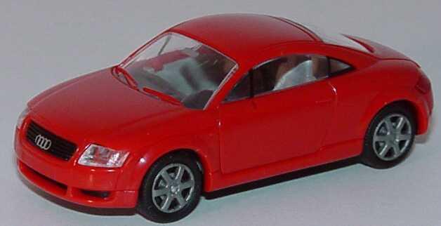 Foto 1:87 Audi TT Coupé (8N) rot (Bastelware) (Bastelware) Rietze 10940