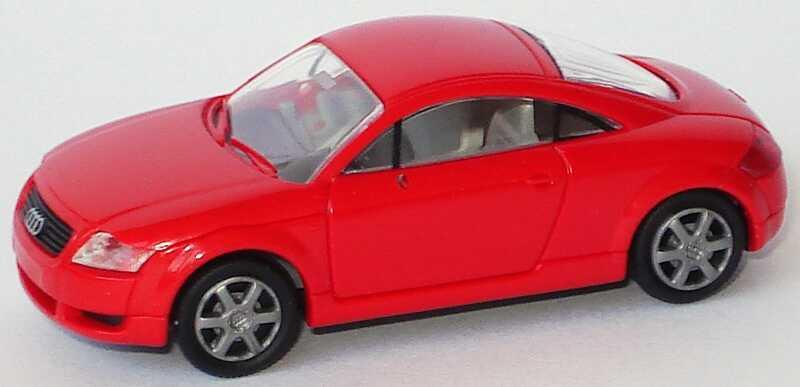 Foto 1:87 Audi TT Coupé (8N) rot Rietze 10940