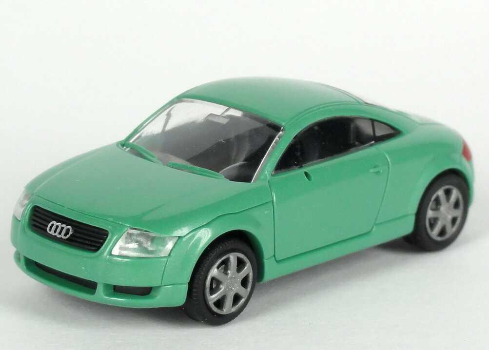 Foto 1:87 Audi TT Coupé (8N) turmalingrün-met. Werbemodell Rietze 5019800432
