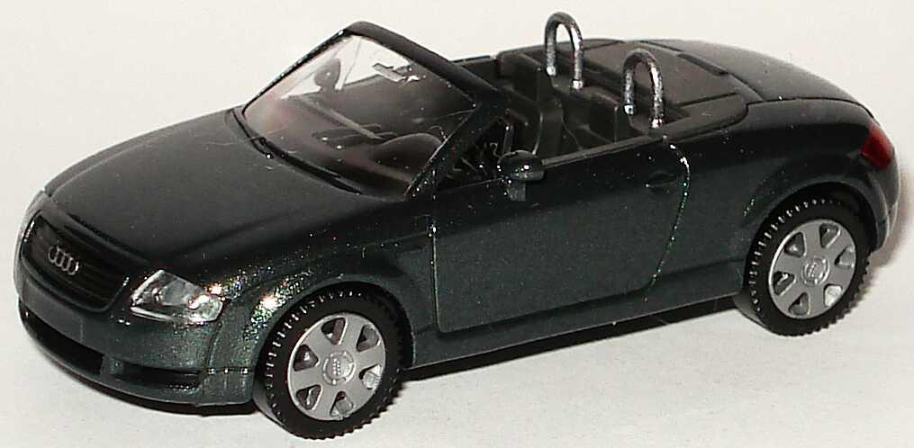 Foto 1:87 Audi TT Roadster (8N) dunkelgrün-met. Wiking 13101