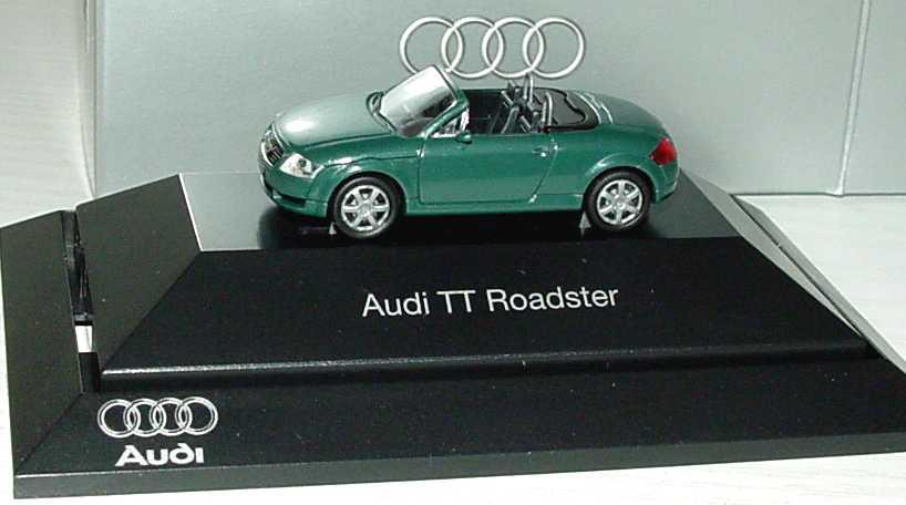 Foto 1:87 Audi TT Roadster (8N) steppengras-pearleffect Werbemodell Rietze 5019900532