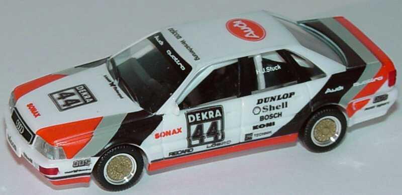 Foto 1:87 Audi V8 DTM 1990 SMS Nr.44, H.J. Stuck (ohne PC-Box) herpa 3535