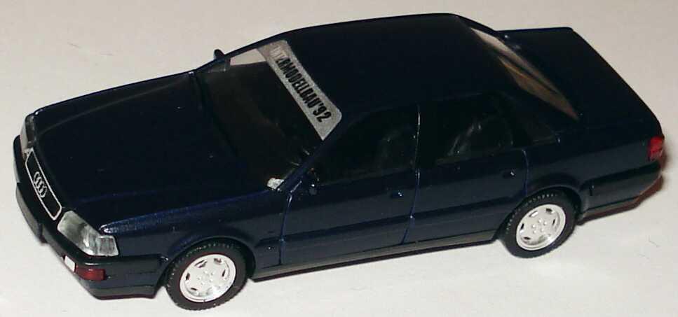 Foto 1:87 Audi V8 dunkelblau-met. Intermodellbau ´92 (oV, ohne PC-Vitrine) herpa
