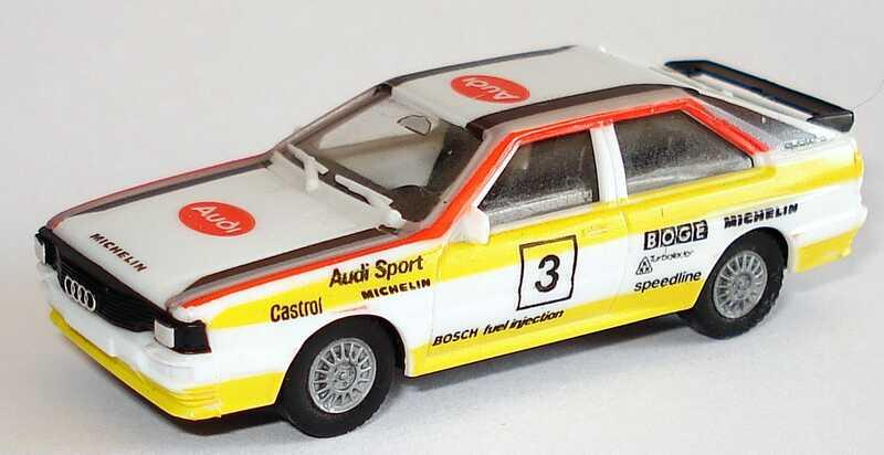 Foto 1:87 Audi quattro Rallye Audi Sport, HB Nr.3 herpa 3544