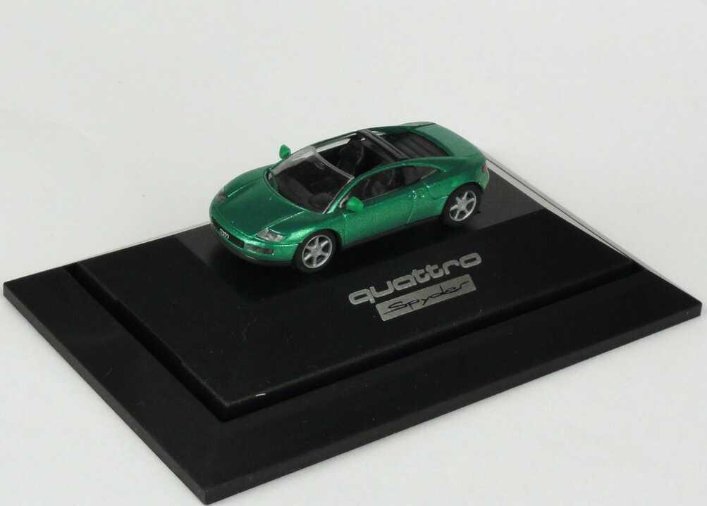 Foto 1:87 Audi quattro Spyder gomera-grün-met. Rietze 80001