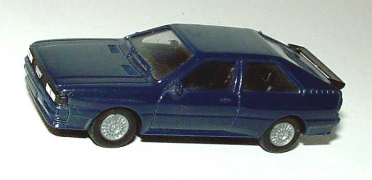 Foto 1:87 Audi quattro dunkelblau herpa 2044
