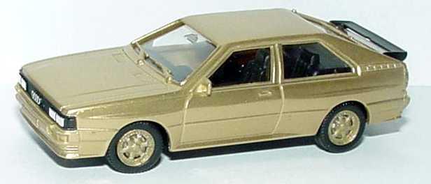 Foto 1:87 Audi quattro goldmet., Felgen gold herpa 166096/84