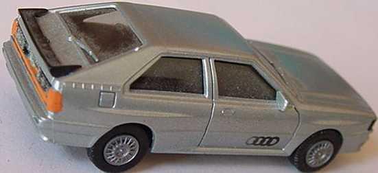Foto 1:87 Audi quattro silber-met. (bemalt) herpa 3044