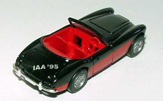 Foto 1:87 Austin Healey 3000 schwarz/rot IAA ´95 Wiking