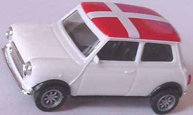 Foto 1:87 Austin Mini Cooper Dänemark herpa 021326