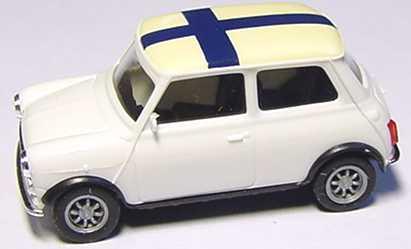 Foto 1:87 Austin Mini Cooper Finland herpa