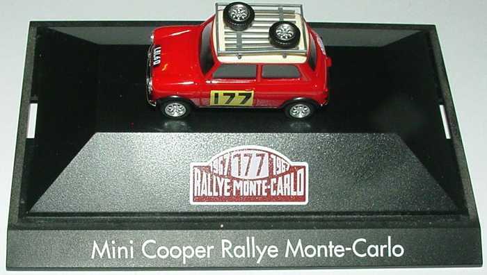 Foto 1:87 Austin Mini Cooper Rallye Monte Carlo Nr.177 herpa 181037