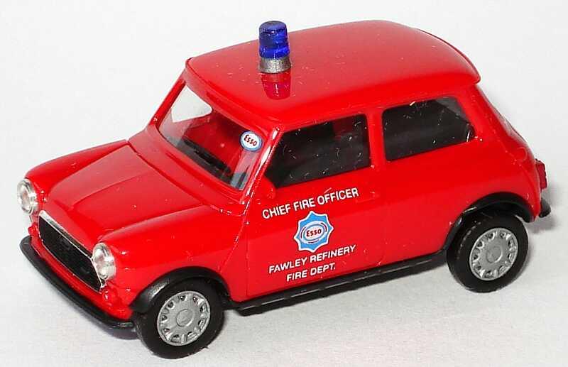 Foto 1:87 Austin Mini Mayfair Esso Feuerwehr herpa 042116