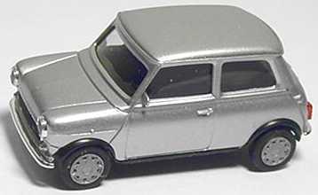Foto 1:87 Austin Mini Mayfair silver-met. herpa 031196