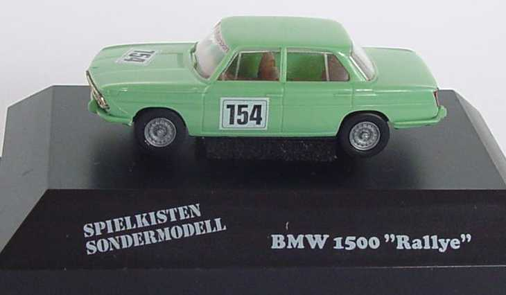 Foto 1:87 BMW 1500 mintgrün Nr.154 Spielkisten Sondermodell Brekina