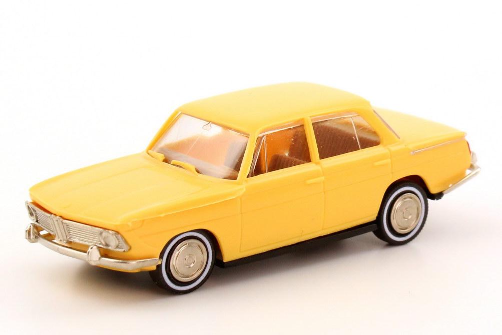 Foto 1:87 BMW 1500 (E115, Neue Klasse) sand-gelb Brekina 22001