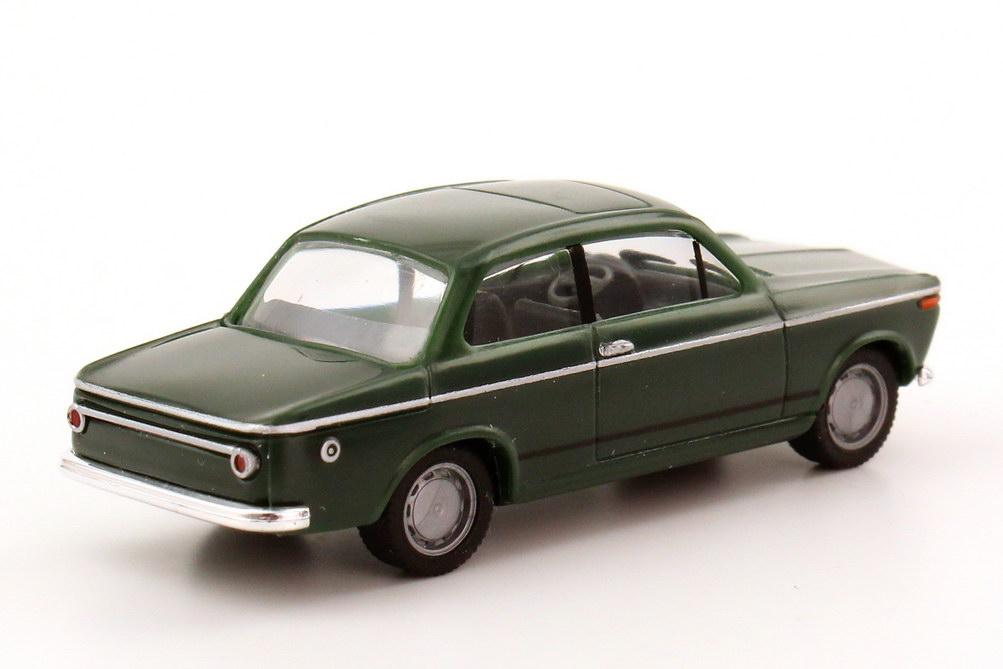 Foto 1:87 BMW 1602 (E114) dunkelgrün herpa 022309
