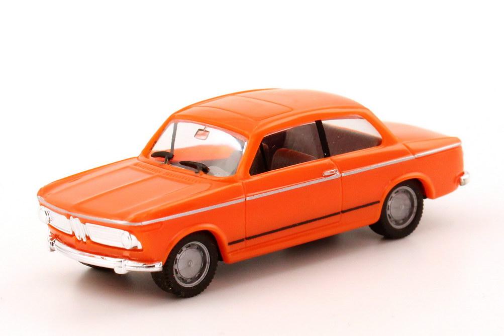 Foto 1:87 BMW 1602 E114 orange - herpa 022309