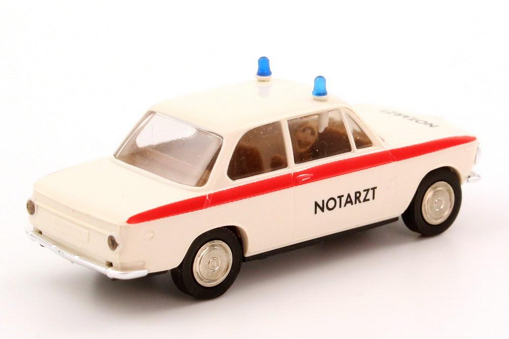 Foto 1:87 BMW 1602 (E114) Notarzt NEF Brekina 24020