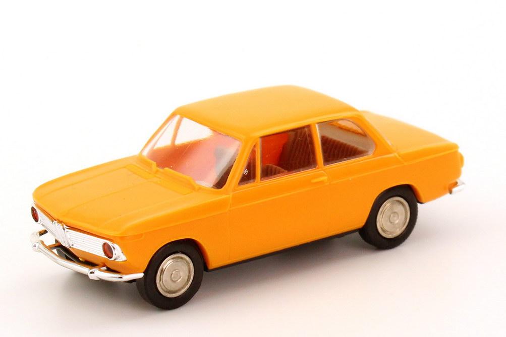 Foto 1:87 BMW 1602 gelb-orange Brekina 24001