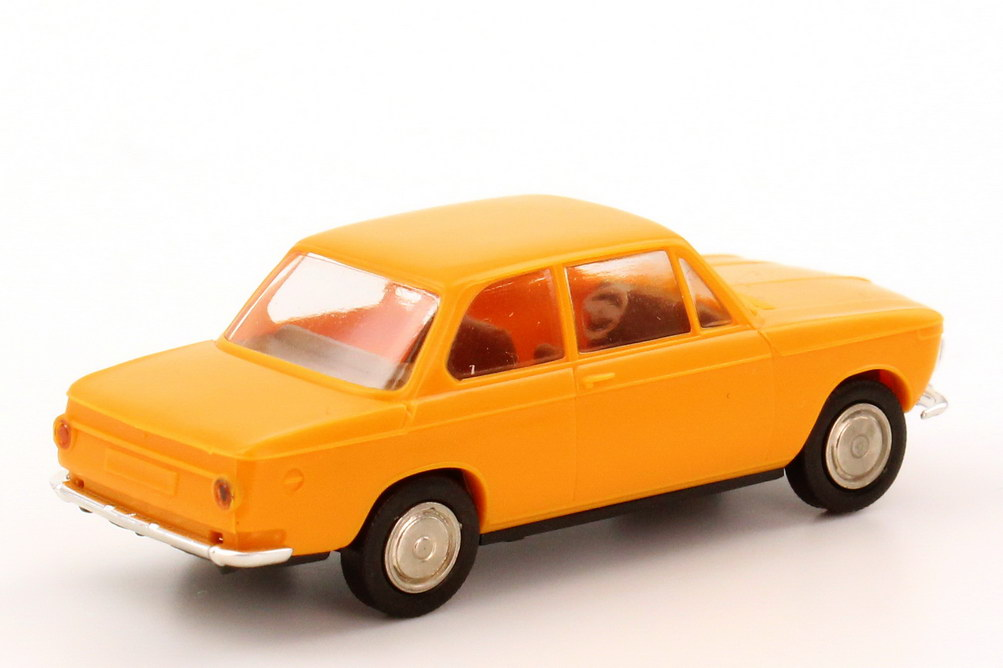 Foto 1:87 BMW 1602 gelb-orange Brekina 24001