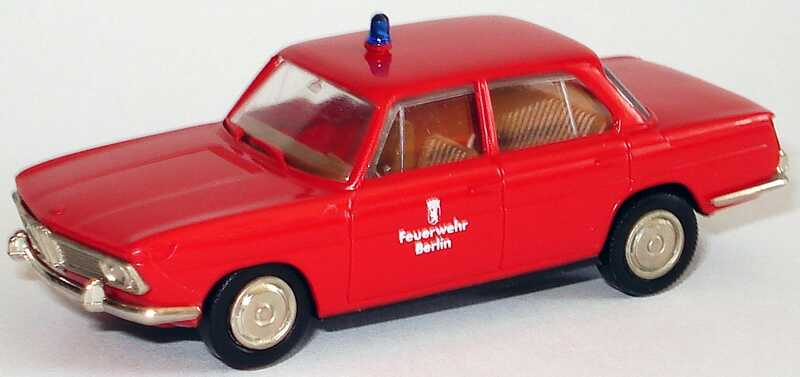 Foto 1:87 BMW 1800 Feuerwehr Berlin Brekina