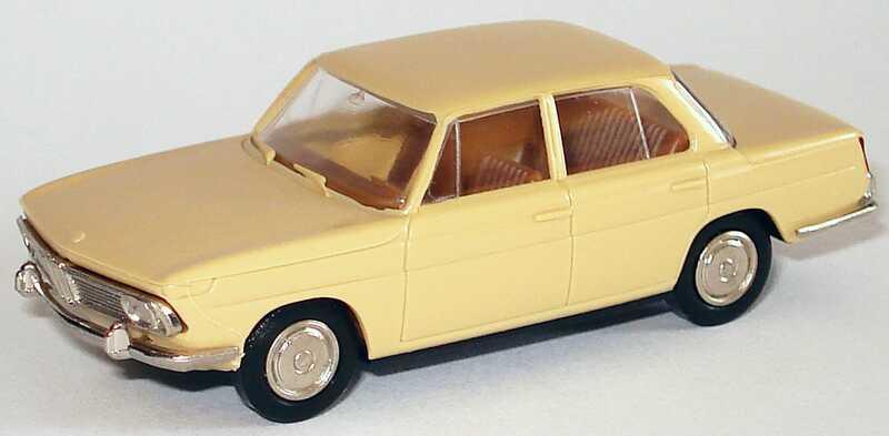 Foto 1:87 BMW 1800 beige Brekina 2200