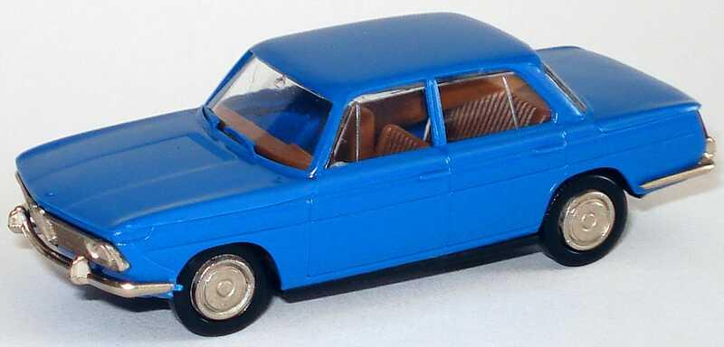 Foto 1:87 BMW 1800 blau Brekina 2200