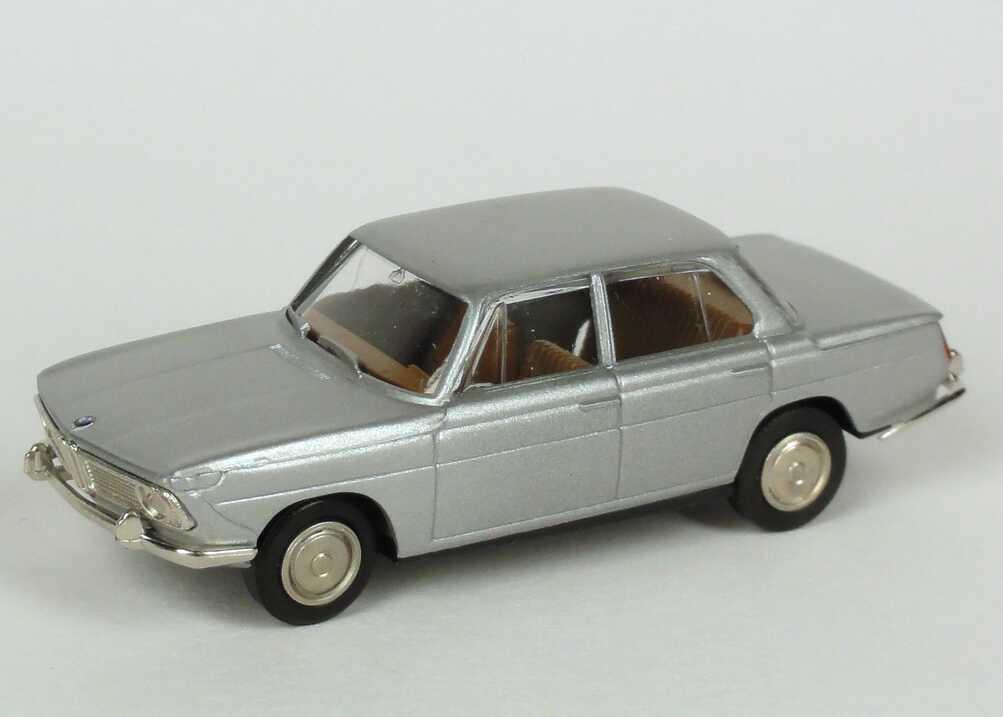 Foto 1:87 BMW 1800ti silber-met. Werbemodell Brekina 80419419708