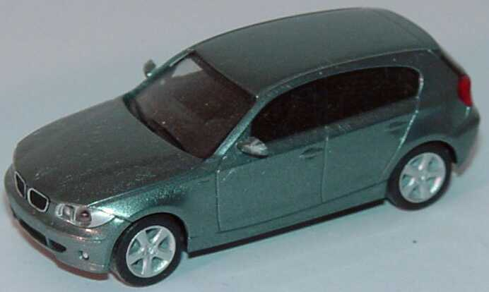 Foto 1:87 BMW 1er (E87) graugrün-met. (Bastelware) herpa