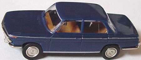Foto 1:87 BMW 2000 dunkelblau Brekina 2203
