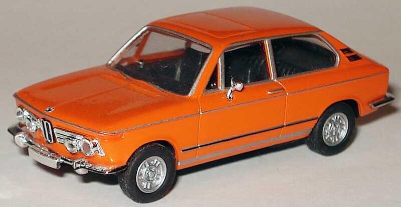 Foto 1:87 BMW 2002 Tii orange herpa 023511