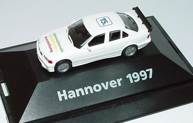 Foto 1:87 BMW 318iS STW (E36) 15. Internationale Modellbahn-Ausstellung Hannover 1997 herpa