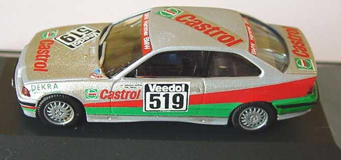 Foto 1:87 BMW 318i Coupé (E36) Hammer, Castrol Nr.519 (Handmade)(oV) herpa