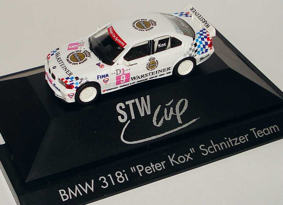 Foto 1:87 BMW 318i (E36) STW 1995 Schnitzer Nr.9, Peter Kox herpa 036658