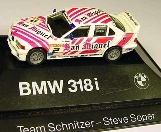 Foto 1:87 BMW 318i (E36) San Miguel Nr.2, Soper (Handmade)(oV) herpa