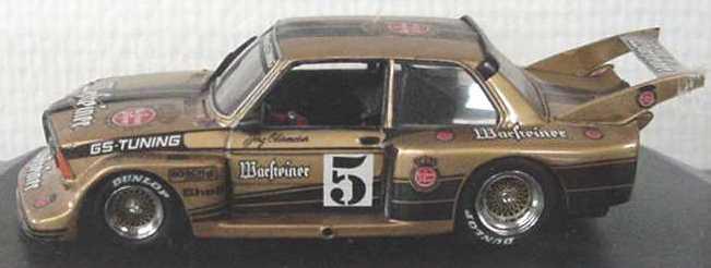Foto 1:43 BMW 320 (E21) Gr.5 DRM 1978 Warsteiner Nr.5, Jörg Obermoser Quartzo 3024