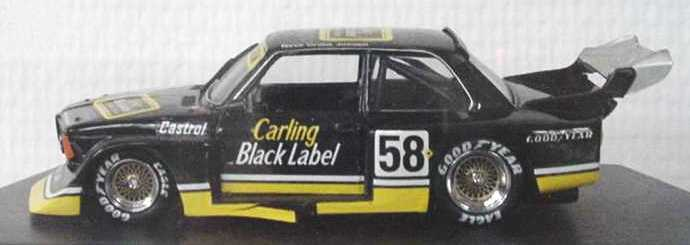 Foto 1:43 BMW 320 (E21) Gr.5 (SPA 1977) Carling Black Label Nr.58, Neve/Grohs/Joosen Quartzo 3022
