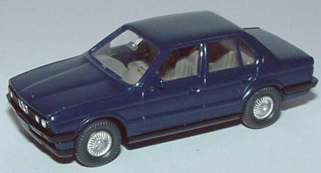 Foto 1:87 BMW 320i 4türig (E30) dunkelblau Wiking