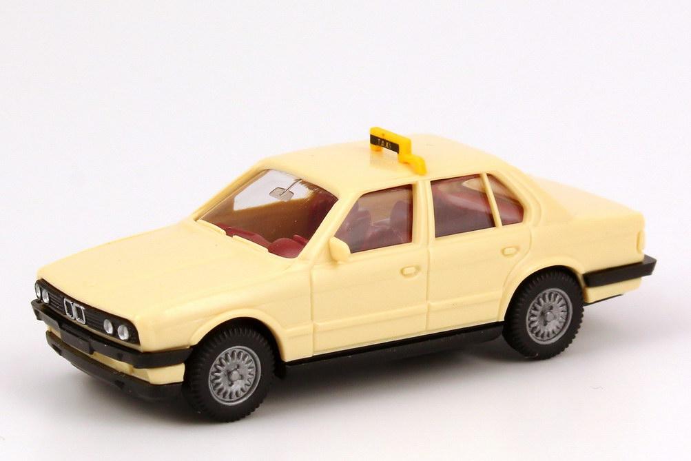 Foto 1:87 BMW 320i 4türig (E30) Taxi Wiking 149